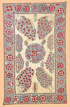 Suzani Embroidery: Notes on Nurata Suzani