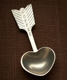 Take a look at this Heart Coffee Scoop by Beehive Kitchenware Co. on #zulily today!