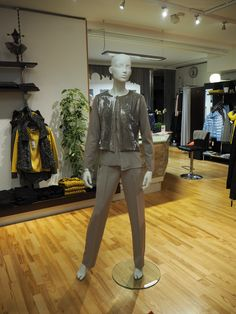 Mehr als nur Mode! Elegant, Normcore, Tops, Outfits, Fashion, Sequin Top, Fall Winter, Silk, Knit Jacket