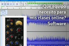 ¿Qué equipamiento de audio debo tener para mis clases online?. Si ya tenemos todo el equipamiento que necesitamos habrá que decidir con qué software grabamos nuestras clases. Pues éstos son los mejores. Descúbrelos.