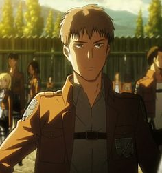 Jean Kirschtein gif  Shingeki no Kyojin Attack on Titan If you make fun of my favourite character, you're going to be proved wrong with a whole load of sass attached.
