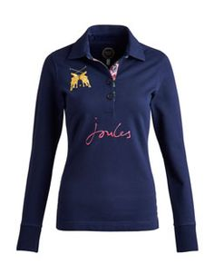 BROOKFIELD Womens Long Sleeved Polo