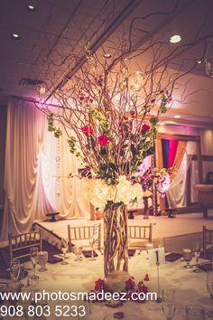 Wedding Decor - for Wedding Reception at Mahwah Sheraton - Indian Wedding. Best Wedding Photographer PhotosMadeEz, Award winning photographer Mou Mukherjee. Along with Wedding Design Featured in Maharani Weddings.