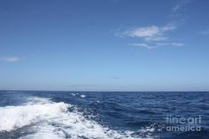 Beautiful Day On The Atlantic Ocean Photograph by John Telfer