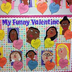 Funny Valentine bulletin board  :) pinned by Jodi from the Clutter-Free Classroom www.CFClassroom.com