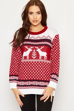 Marcela Knitted Fairisle Christmas Jumper