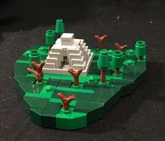 LEGO Microscale Aztec Temple