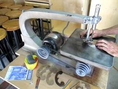 Clockmaker Clayton Boyer shares some videos of his wooden gear clocks in action.