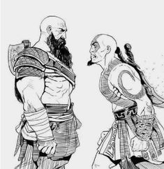 God of War,Игры,God of War арт,game art Kratos God Of War, King's Quest, Fanarts Anime, Fan Art, Video Game Art, Geek Culture, Game Character, Fantasy Characters, Videogames