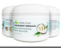 skin tightening oil Coconut Oil Body Butter for Stretchmarks & Scars - Natural Skin Care for Women & Men - Anti Aging Cream Moisturizer for Dry & Sensitive Skin - Vitamin E Skin Tightening Cream - Anti-Wrinkle Treatment $12.77 & FREE Shipping on orders over $25.