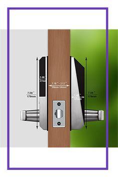 Digital Keypad Door Lock Keyless Entry Door Lock with Mifi Card