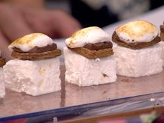 Inventive hors d'oeuvres: S'mores, shrimp rolls, more