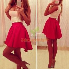 Sexy Women Fashion Sleeveless Evening Clubwear Cocktail Party Short Mini Dress #Unbranded #BallGown #Cocktail