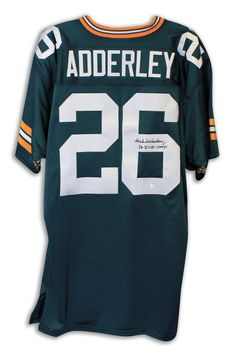 """AAA Sports Memorabilia LLC - Herb Adderley Green Bay Packers Autographed Green Throwback Jersey Inscribed """"SB I   II Champs"""", #herbadderley, #packers #greenbaypackers #nfl #nflcollectibles #sportscollectibles #autographedcollectibles $274.95 (http://www.aaasportsmemorabilia.com/nfl/herb-adderley-green-bay-packers-autographed-green-throwback-jersey-inscribed-sb-i-ii-champs/)"""