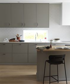 Kitchen Dining, Kitchen Cabinets, Interior Design Kitchen, Decoration, Home And Garden, Table, House, Lund, Furniture