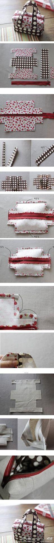 Scripture case DIY !! Different fabric.. Perfect Divine Nature Project!!! :)