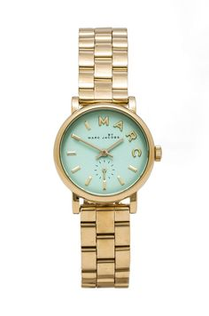 c8f62d597e8 NEW Marc by Marc Jacobs Baker Watch in Rose Gold & River | REVOLVE  Muntkleurig Horloge