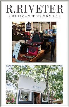 "Southern Pines is proud to have R. Riveter, as seen on ""Shark Tank,"" among their local shops.  Beautiful, functional, American-made handbags (made by Military wives, ""Riveters"") are their staple.  They also carry a variety of items such as candles, scarves, jewelry, bottle openers & more, made by military spouses or Veteran owned companies.   LOCATION: 177 W. Pennsylvania Avenue Southern Pines, NC 28387  HOURS: Monday: 11am-5pm Tuesday-Friday: 10am-5pm Saturday: 11am-5pm  PHONE: (910)…"