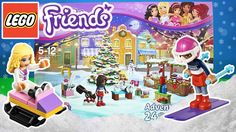 Lego Friends Christmas Advent Calendar 2015 | Kids Play O'Clock