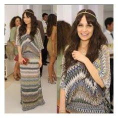 My Style / Missoni maxi dress...... I love! via Polyvore