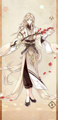 Anime Guy Long Hair, Hot Anime Guys, Cute Anime Boy, Novel Characters, Fantasy Characters, Anime Characters, Manga Anime, Anime Art, Character Art