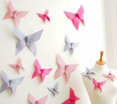 Fluttering Wall Decor