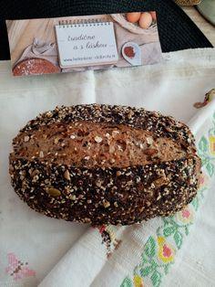 Helenkine dobroty - Viaczrnný chlebík s 30% podielom celozrnnej múky Camembert Cheese, Dairy, Bread, Food, Brot, Essen, Baking, Meals, Breads