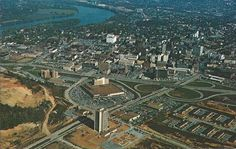 Aerial View of CHATTANOOGA TN. Feb. 1971 Postcard 19