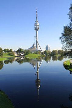 Parc Olympique, Munich, © Nagy / Presseamt München