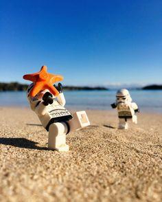 Beachin' stormtroopers