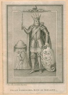 Brian Borhoime, first King of Ireland. Kate Middleton can trace her ancestry to him