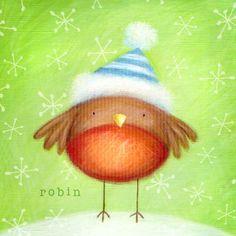 Ileana Oakley - Christmas Cute Robin Snow.jpg