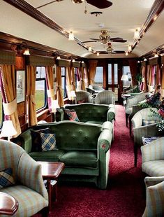 What a beautiful way to travel, at least on this train.   The Royal Scotsman                                  tumblr: Aesthetic Compass of a Gentleman Rogue