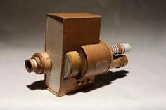 Can't afford one of those fancy, expensive SLR cameras? Then why not make one out of cardboard? American artist Kiel Johnson did just that, and his final Cardboard Camera, Art Projects, Projects To Try, Camera Art, Paper Crafts, Diy Crafts, Paper Packaging, Door Handles, Sculptures