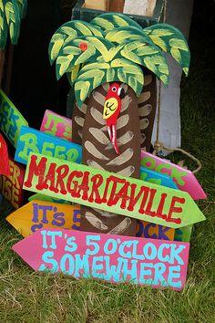 margaritaville sings   Margaritaville Sign   Flickr - Photo Sharing!