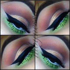 Eye makeup!!!                @ mbynessa_