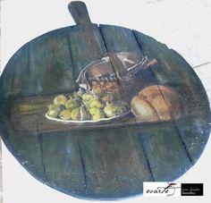 Fb:evarte χειροποιητες δημιουργιες Art Work, Decoupage, My Arts, Painting, Vintage, Artwork, Work Of Art, Painting Art, Art Pieces