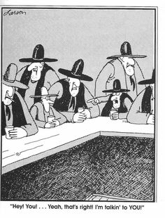 """The Far Side"" by Gary Larson. You talking to me? Far Side Cartoons, Far Side Comics, Witty Remarks, Gary Larson, Cartoon Jokes, The Far Side, Funny Pictures, Funny Pics, Talk To Me"