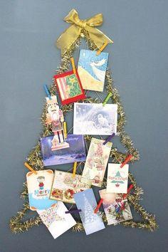 s 20 fake christmas trees you ll wish you d seen sooner, christmas decorations, repurposing upcycling, seasonal holiday decor, Display Space Wall Hanger