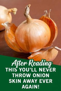 Onions are irreplaceable food in our everyday life and are used in the preparation of almost all dishes, but the biggest mistake most people often make is throwing away the skin after peeling it. Healthy Living Tips, Healthy Tips, Healthy Eating, Healthy Facts, Fat Burning Supplements, Fat Burning Foods, Garlic Tea, Diet Plan Menu, Health And Fitness