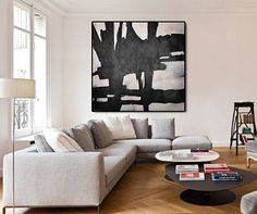 Original Artwork Extra Large Abstract Painting by CelineZiangArt