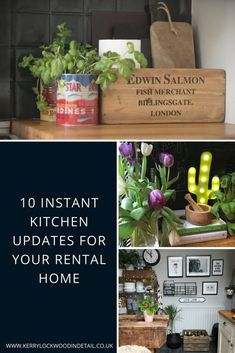 10 instant kitchen updates for your rental home