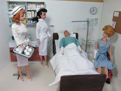 Barbie Doll Hospital Bed