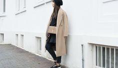 Bloggerin @sarahvonh  with munda:rt Style NCE Nizza in Black