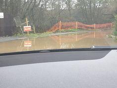 Flood Taplins Farm Road Winchfield 3 January 2016