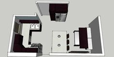 Remodel layout for small kitchen/dining room area...DIY Kitchen Crashers