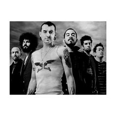 An image of Linkin Park ❤ liked on Polyvore featuring linkin park