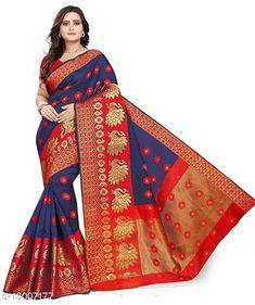 Sarees Abhisarika Fashionable Sarees Saree Fabric: Banarasi Silk Blouse: Separate Blouse Piece Blouse Fabric: Banarasi Silk Multipack: Single Sizes:  Free Size (Saree Length Size: 5.5 m, Blouse Length Size: 0.8 m)  Country of Origin: India Sizes Available: Free Size   Catalog Rating: ★4.1 (559)  Catalog Name: Aagyeyi Petite Sarees CatalogID_2532914 C74-SC1004 Code: 644-13007177-3111