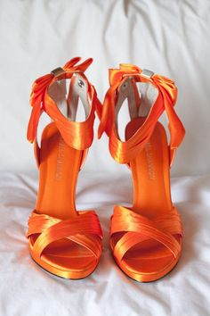 abfbb391f3fa2 orange.quenalbertini  Sandals Orange Wedding Shoes
