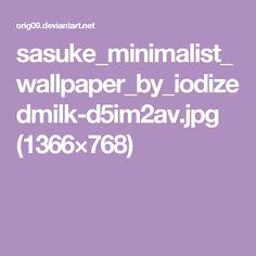 sasuke_minimalist_wallpaper_by_iodizedmilk-d5im2av.jpg (1366×768)